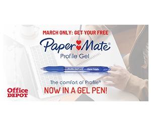 Free Papermate Profile Gel Pen