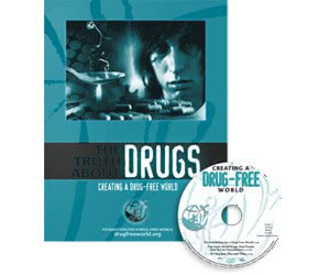 Free Drug-Free World Kit With Booklet, Video And Guide