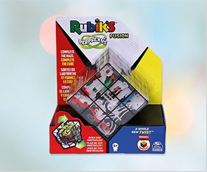 Free Rubik's Perplexus Toy From Spin Master