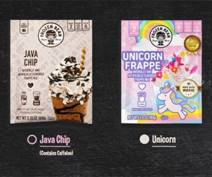 Free Java Chip Or Unicorn Frappe Mixes From Frozen Bean