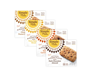 Free Soft Baked Bars From Simple Mills
