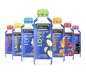 Free Fiber Infused Flavored Water From hellowater