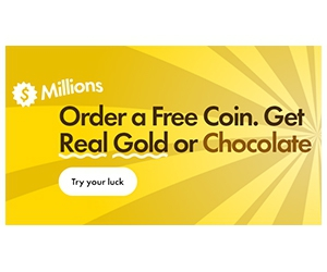Free Real Gold or Chocolate Coin