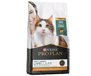 Free Purina Pro Plan LiveClear Cat Food