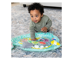 Free Narwhal Pat & Play Water Mat From Infantino