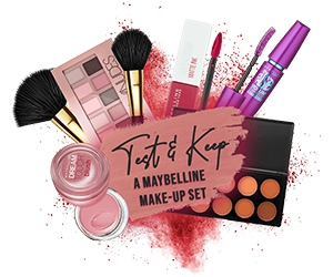 Free Maybelline Make-Up Set
