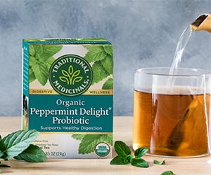 Free Sample of Organic Peppermint Delight Probiotic
