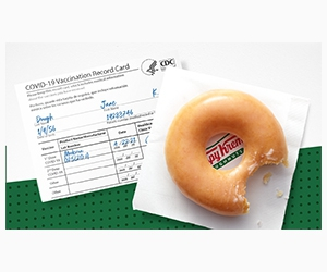 Free Original Glazed® Doughnut from Krispy Kreme