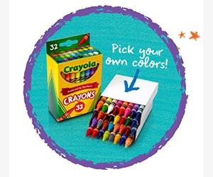 Free Crayon Box From Crayola