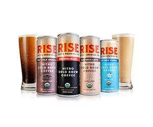 Free Nitro Cold Brew Coffee From RISE Brewing Co.