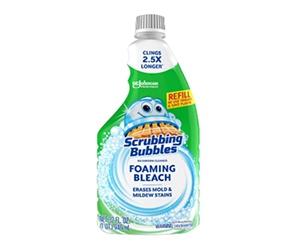 Free Scrubbing Bubbles Foaming Bleach Sample