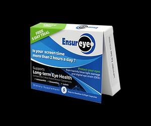 Free EnsurEye Eye Health Supplement Sample