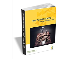 """Free eBook: """"How to Beat Stress in a High-Pressure World"""""""