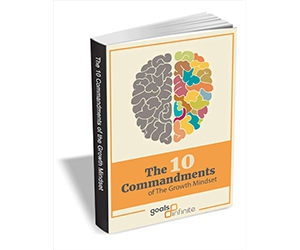 """Free eBook: """"The 10 Commandments of The Growth Mindset"""""""
