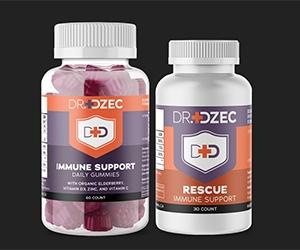 Free Dr. DZEC Daily Immune Support Gummies Sample