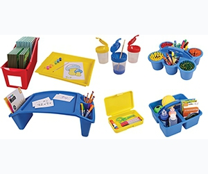 Free Antimicrobial Kids Storage And Organization Products From Deflecto