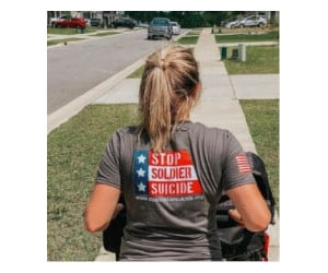 Free Stop Soldier Suicide T-shirt