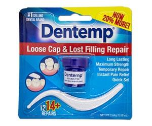 Free Dentemp Oral Care Loose Cap And Lost Filling Repair