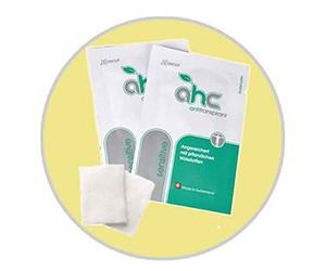 Free Sample of AHC Sensitive Antiperspirant Pads