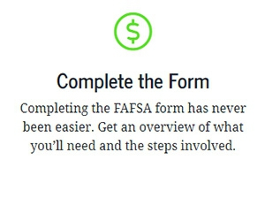 Apply for Financial Aid from Federal Student Aid