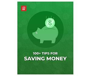 "Free Cheat Sheet: ""100+ Tips for Saving Money"""