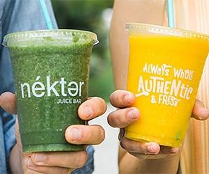 Free Nekter Juice Or Smoothie