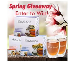 Win Revolution Tea x3 Boxes + x2 Double Wall Glasses