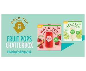 Free Halo Top Fruit Pops Box