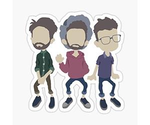Free Nane The Band Sticker