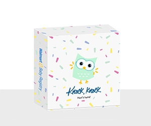 Free Welcome Baby Registry Box at Walmart