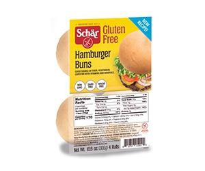 Free pack of Gluten Free Hamburger Buns by Schär
