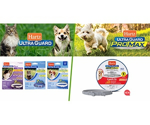 Hartz UltraGuard Flea And Tick Collars For Dogs And Cats