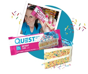 Free Quest Swag, Protein Bars, Shakes, And More Products