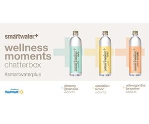 Free Smartwater Wellness Water Bottle