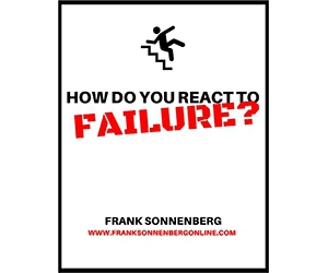 """Free Cheat Sheet: """"How Do You React to Failure?"""""""