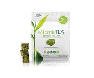 Free Frozen Tea Cubes from Millennia TEA