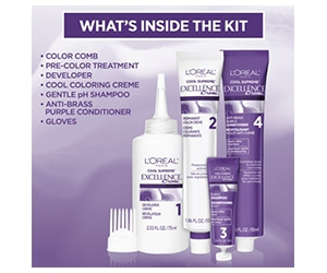 Free L'Oreal Paris Excellence Cool Hair Color Kit