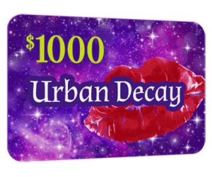 Free $1000 Urban Decay Gift Card