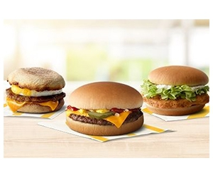 Free Sausage McMuffin® with Egg, McChicken® or Cheeseburger