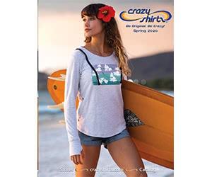 Free Crazy Shirts Catalog