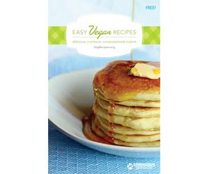 Free Easy Vegan Recipes Booklet