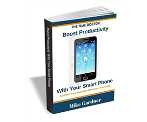 """Free eBook: """"Boost Productivity With Your Smart Phone"""""""