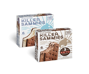 Free box of Keto Friendly Ice Cream Sandwiches