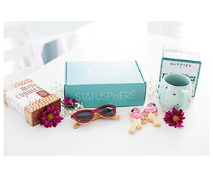 Free Snacks, Clothes, And Skincare Products From Statusphere
