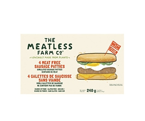 Free Plant-Based Breakfast Patties From Meatless Farm Co.