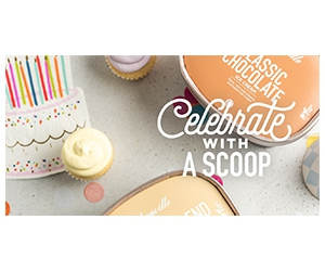 Free $5 Off Hudsonville Ice Cream On Your Special Day
