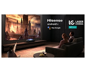 Free Hisense L5 Series 4K Smart Laser Cinema Android TV