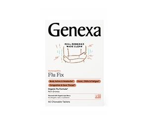 Free Flu Fix Chewables From Genexa
