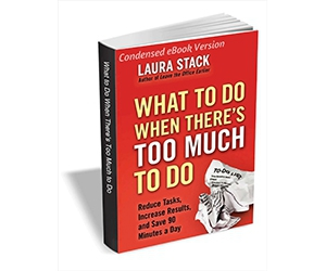 """Free eBook: """"What to Do When There's Too Much to Do - Reduce Tasks, Increase Results, and Save 90 Minutes a Day (Condensed eBook Version)"""""""