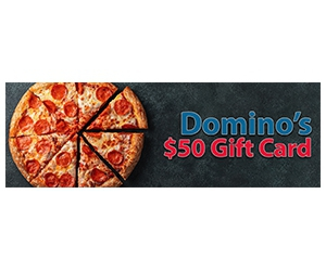 Free $50 Domino's Gift Card